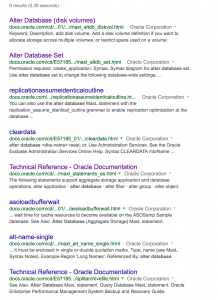 Google Technical Reference Search
